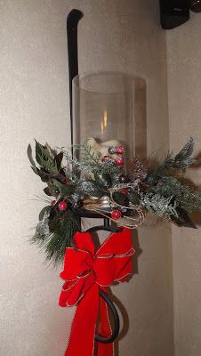 Welcome To Crest Avenue Wall Sconces Decorated For Christmas Christmas Decorations Decorating Blogs White