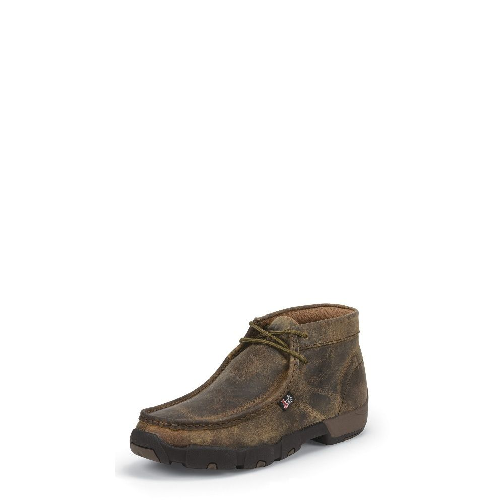Justin Boots #232 Cappie Dark Brown