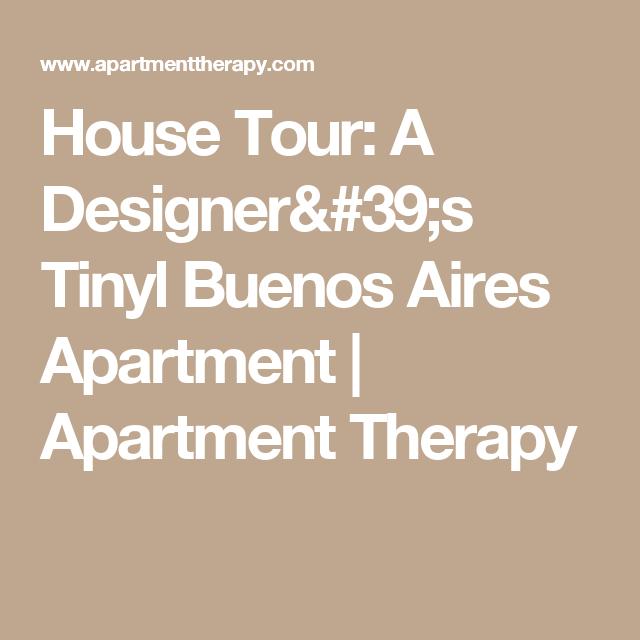 A Graphic Designer's Tiny Buenos Aires Apartment