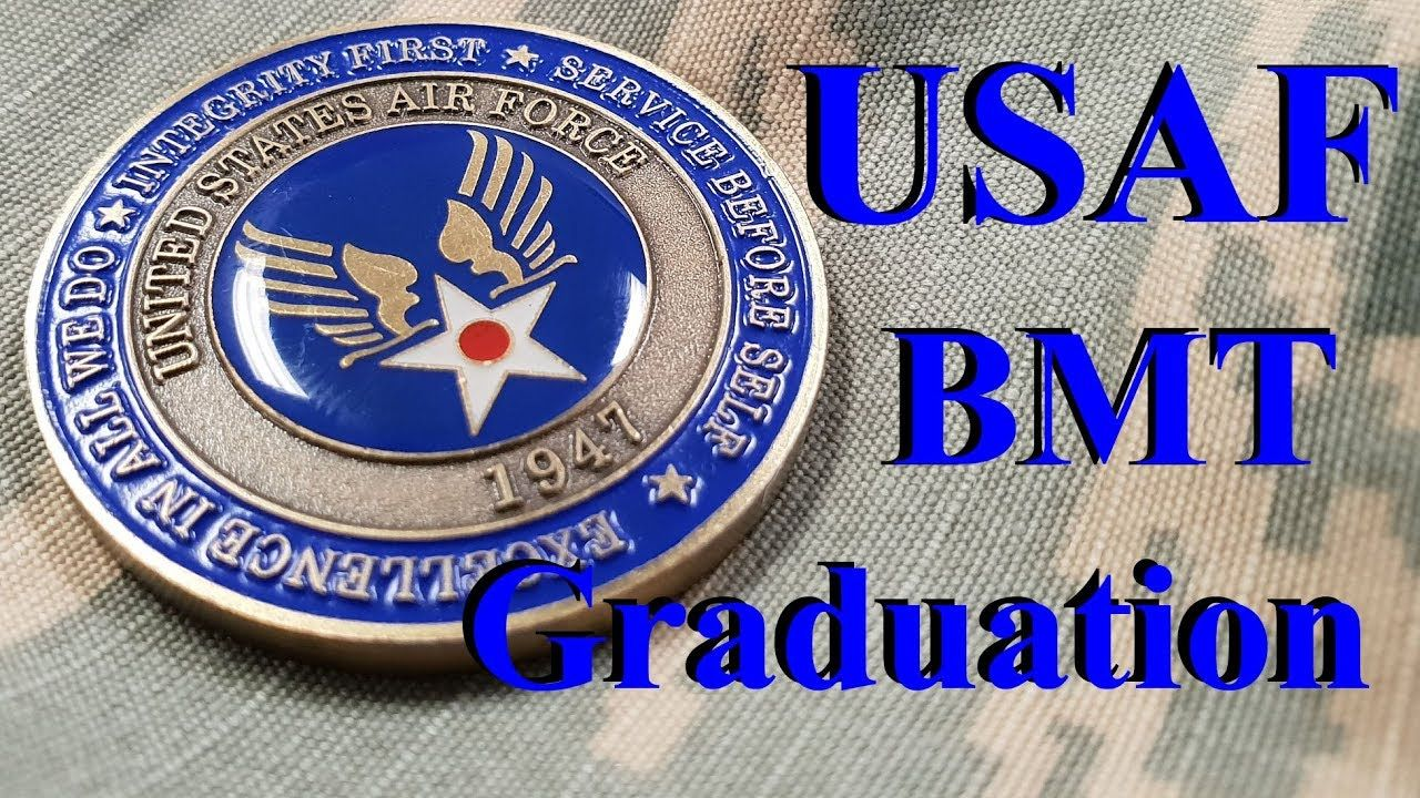 Air Force BMT Ceremony Coin Parade Drill YouTube Usaf