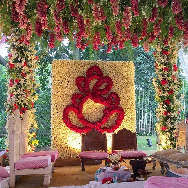 Wedding Ceremony Backdrop, Garden