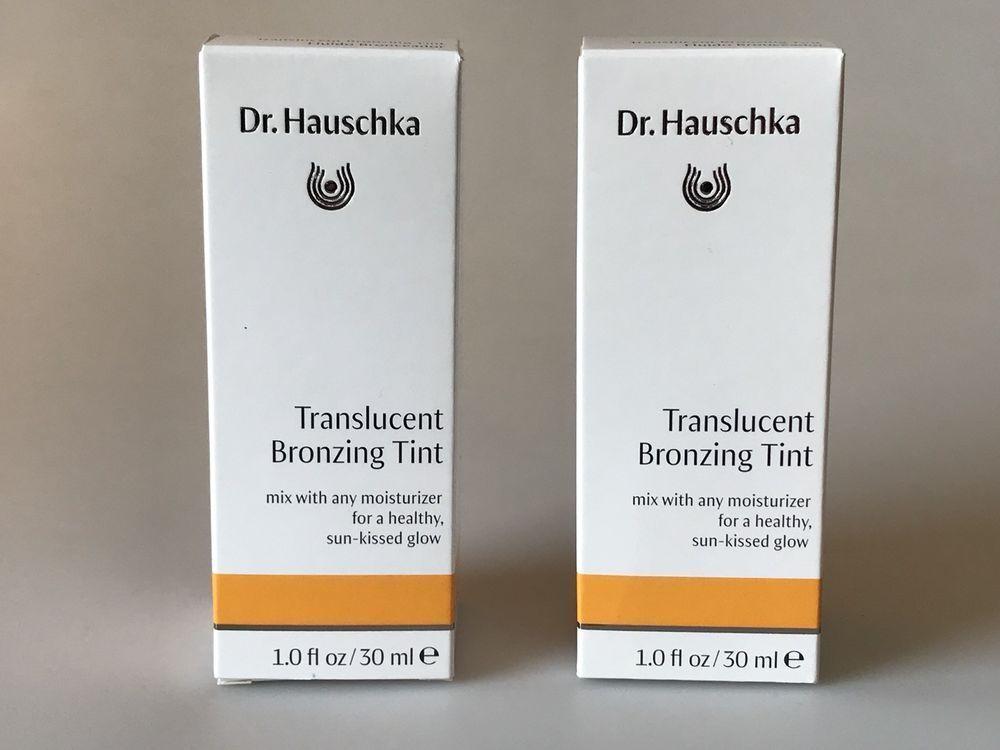 2 Dr Hauschka Translucent Bronzing Tints 1 0 Oz Each 2 Items Expires 7 2020 Drhauschka Skin Care Secrets Bronzing Bright Skin