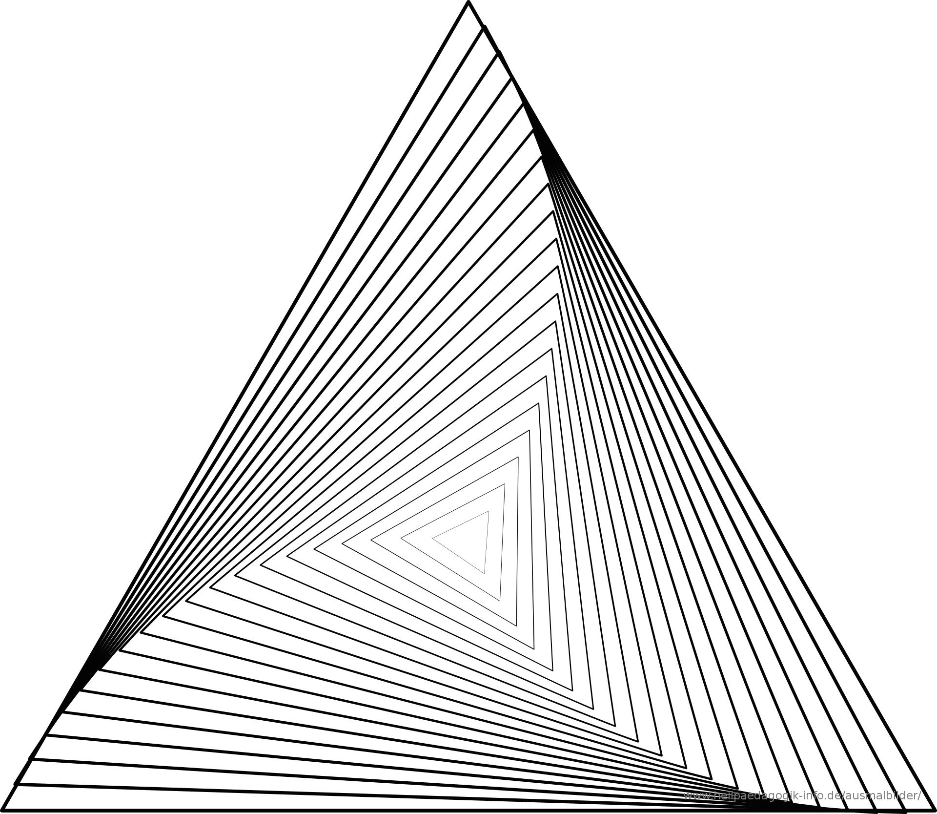 ausmalbilder geometrischen | Ausmalbilder für kinder | Drawing ...