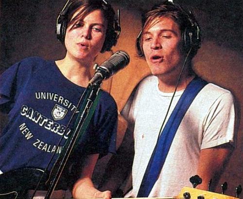 Juliana Hatfield and Evan Dando, 1992.