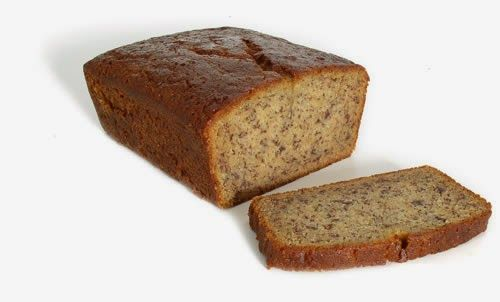 Delicious and moist banana bread