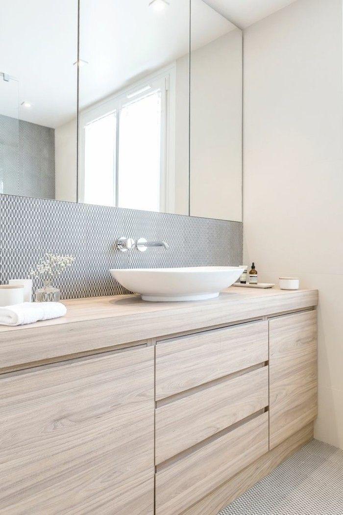 Mille idées d\u0027aménagement salle de bain en photos Bathroom designs - Renovation Meuble En Chene