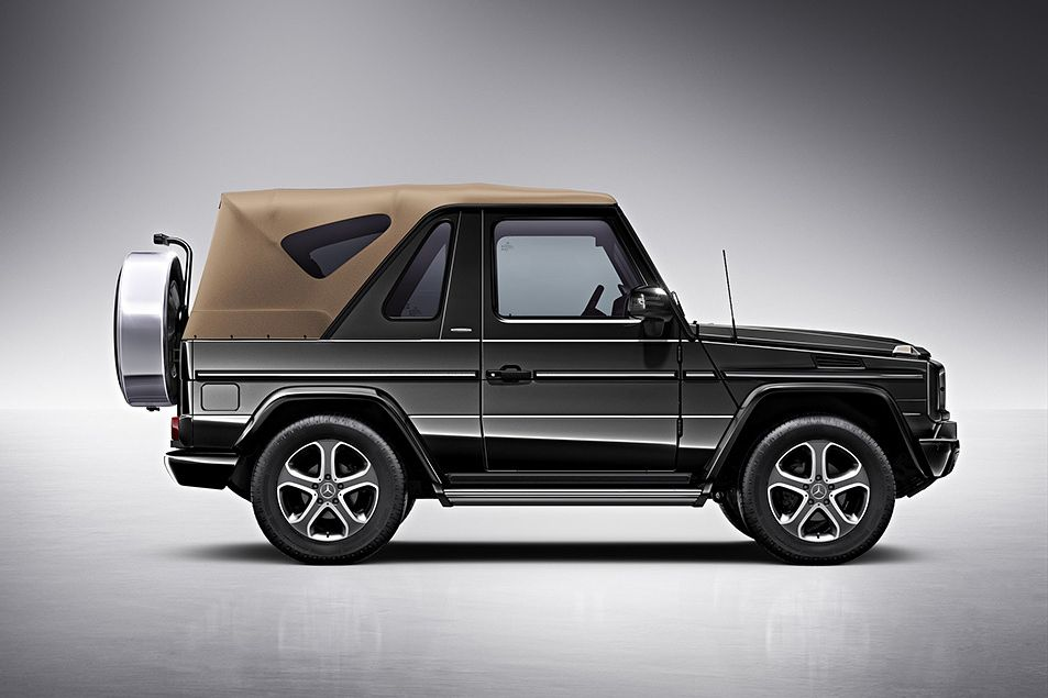 Mercedes Benz Says Goodbye To The G Class Cabriolet With The Final