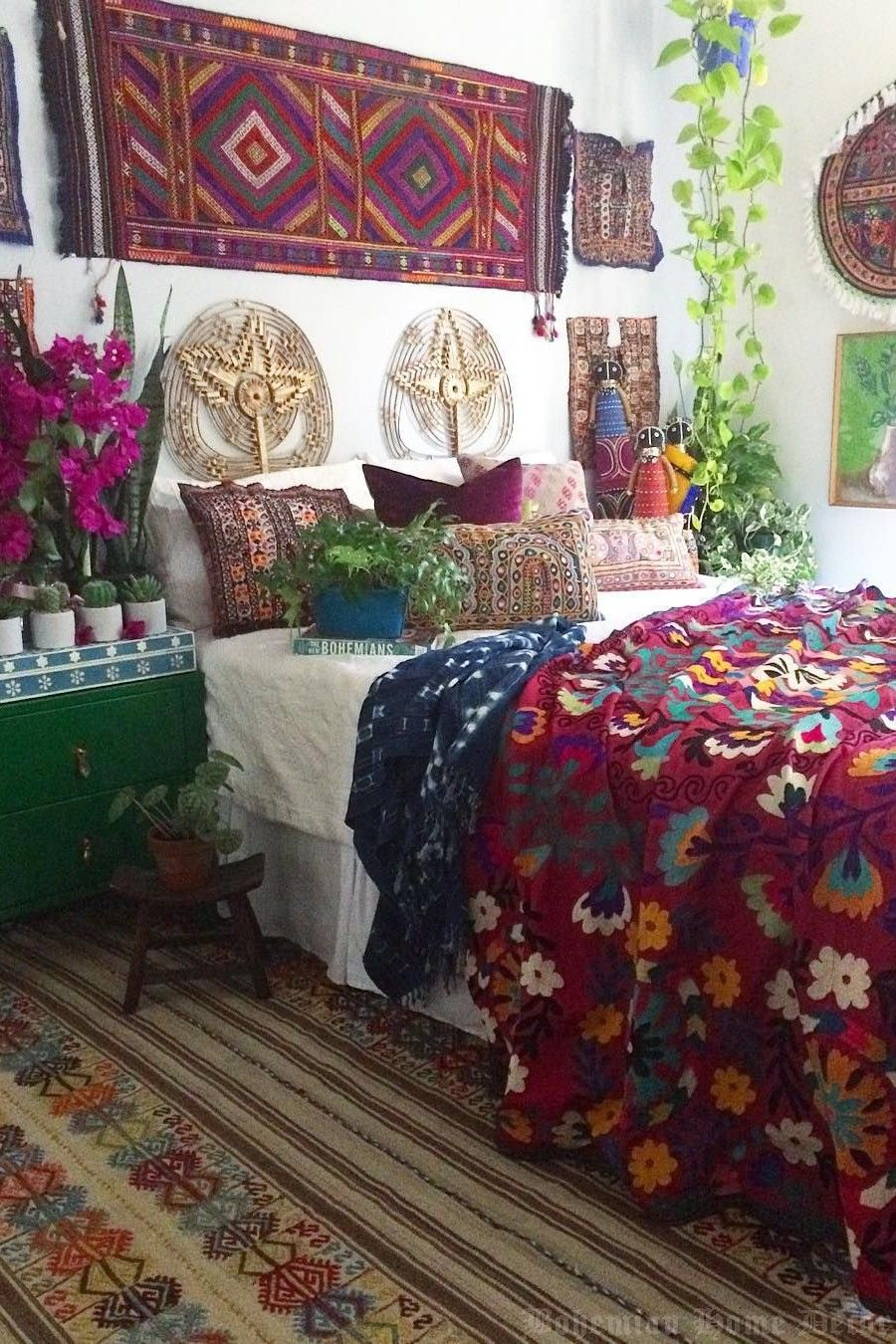 A Good Bohemian Home Decor Is…