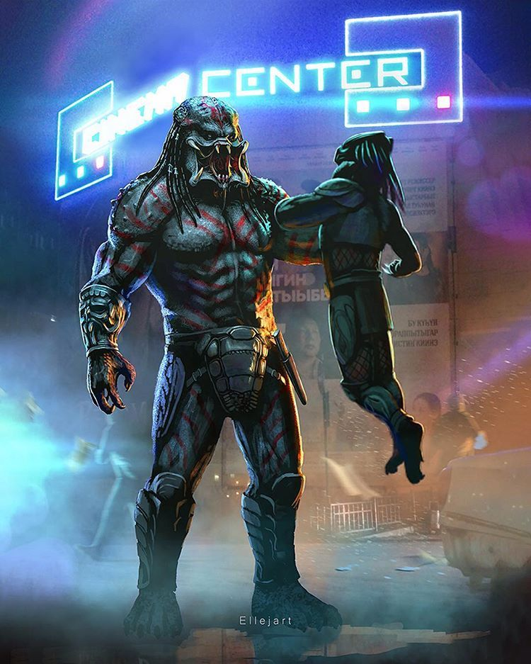 Only I Understand It Thanos Fan Art By Elleyart The Scene Of Thanos S Appearance Is Epic The Red A Predator Movie Predator Alien Art Predator Cosplay