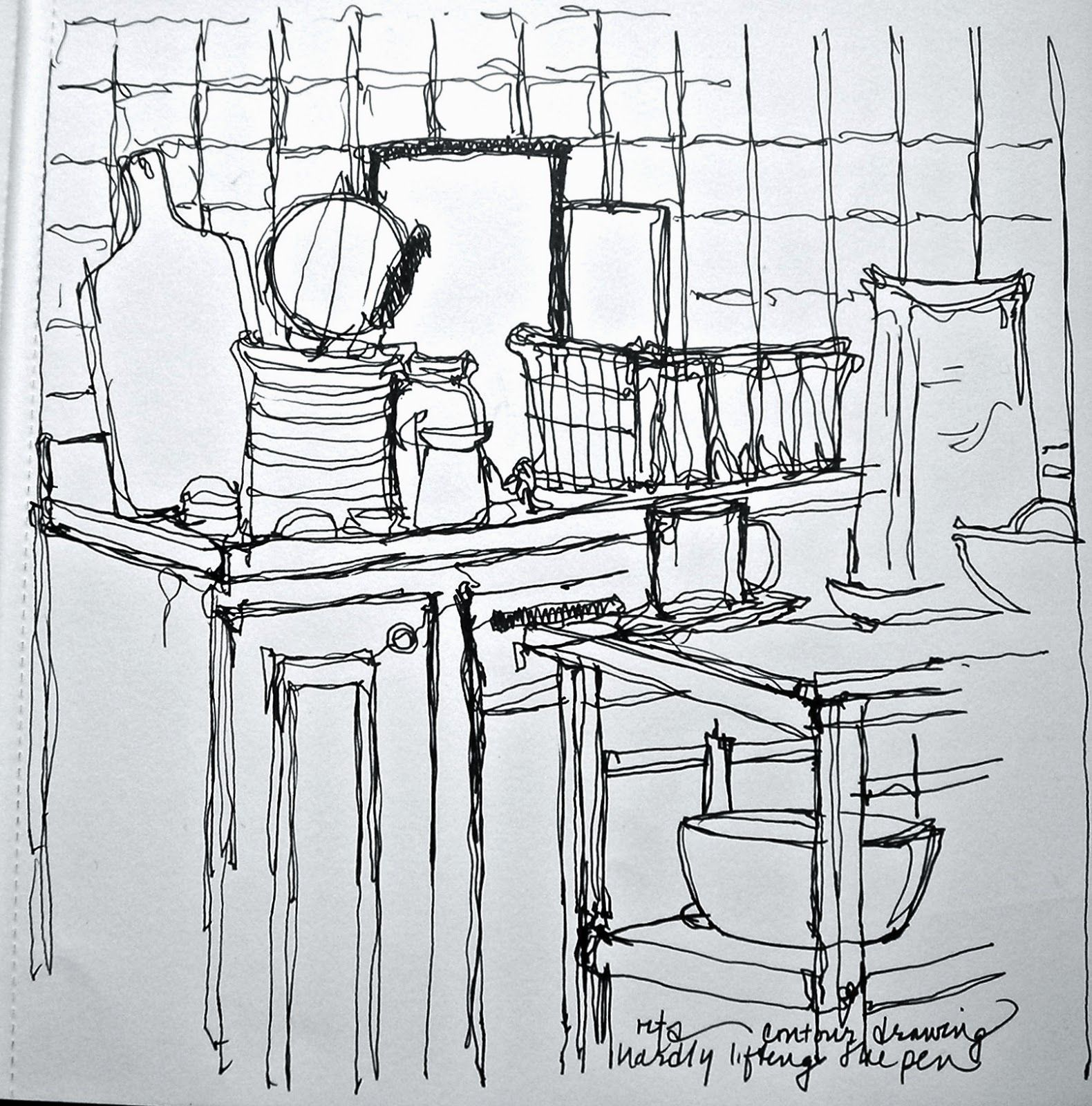Line Drawing Room : Sketchbook drawing of contour room google search
