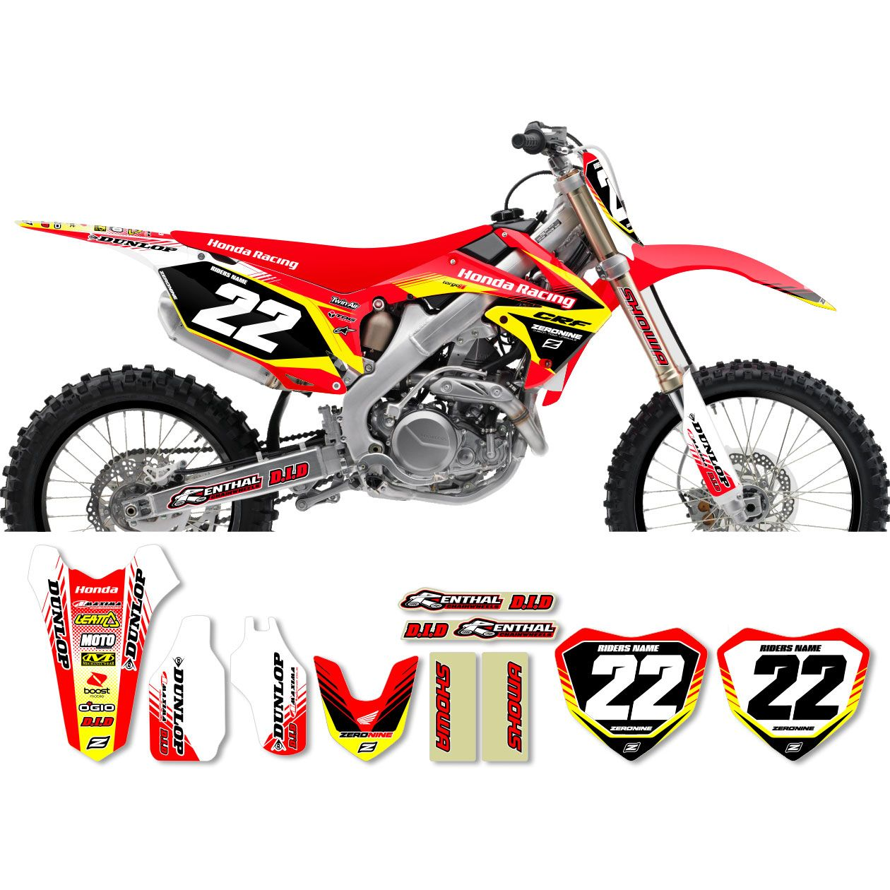 Vintage motocross number plate graphics - These Graphics Kit Are Printed On Scratch Resistant Ultracurve 20 Mil Vinyl With An Exclusive