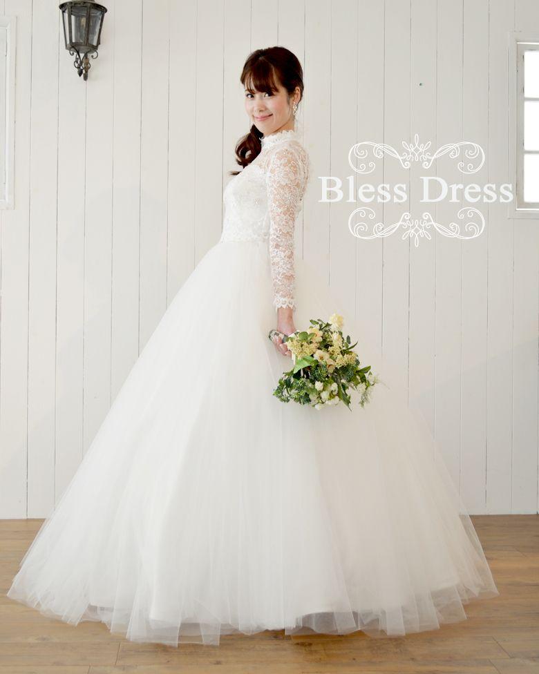 36347f101fdc0 楽天市場  大阪店でご試着可能 ウェディングドレス・チュール ...