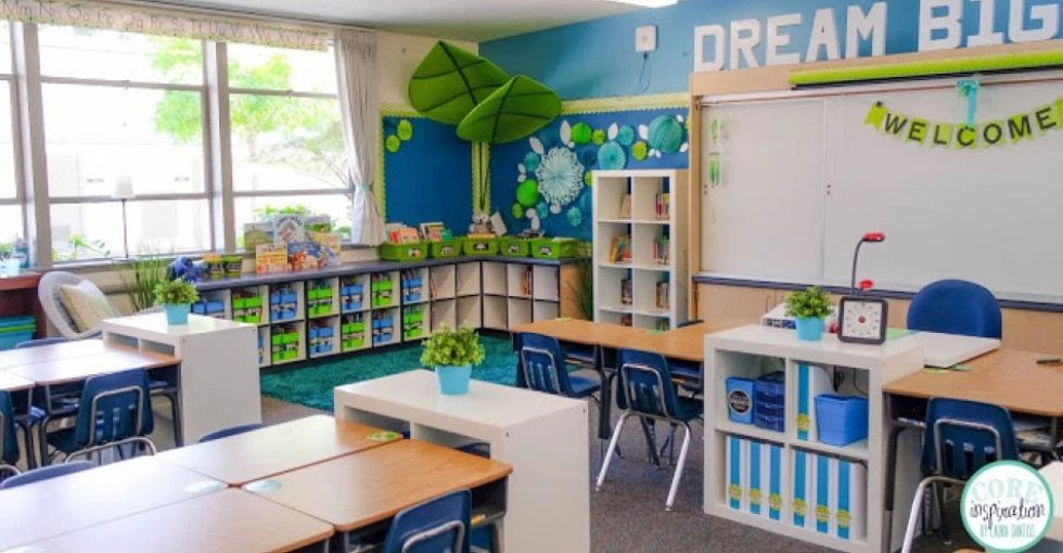 The most important thing when preparing your classroom is creating a space that is warm and welcomi