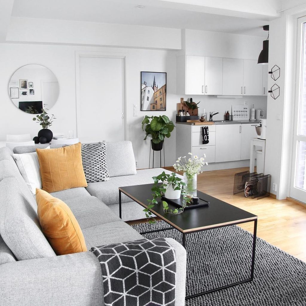 41 Outstanding Small Apartment Living Room Layout Ideas Living