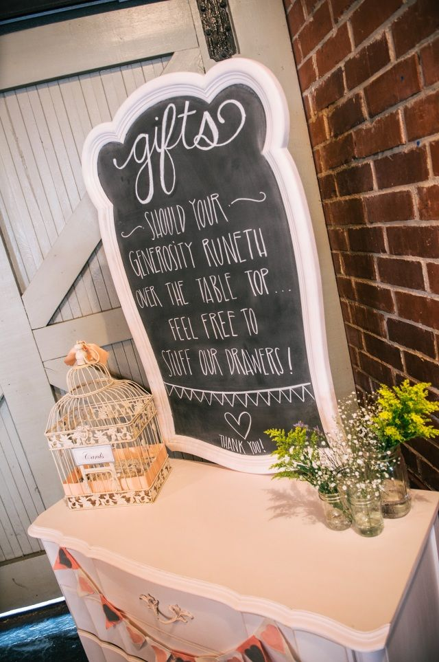 Gift Table Idea Gift Table Pinterest Weddings Wedding Rentals