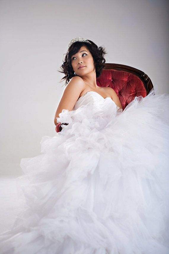 Tulle Wedding Gown  $699.00