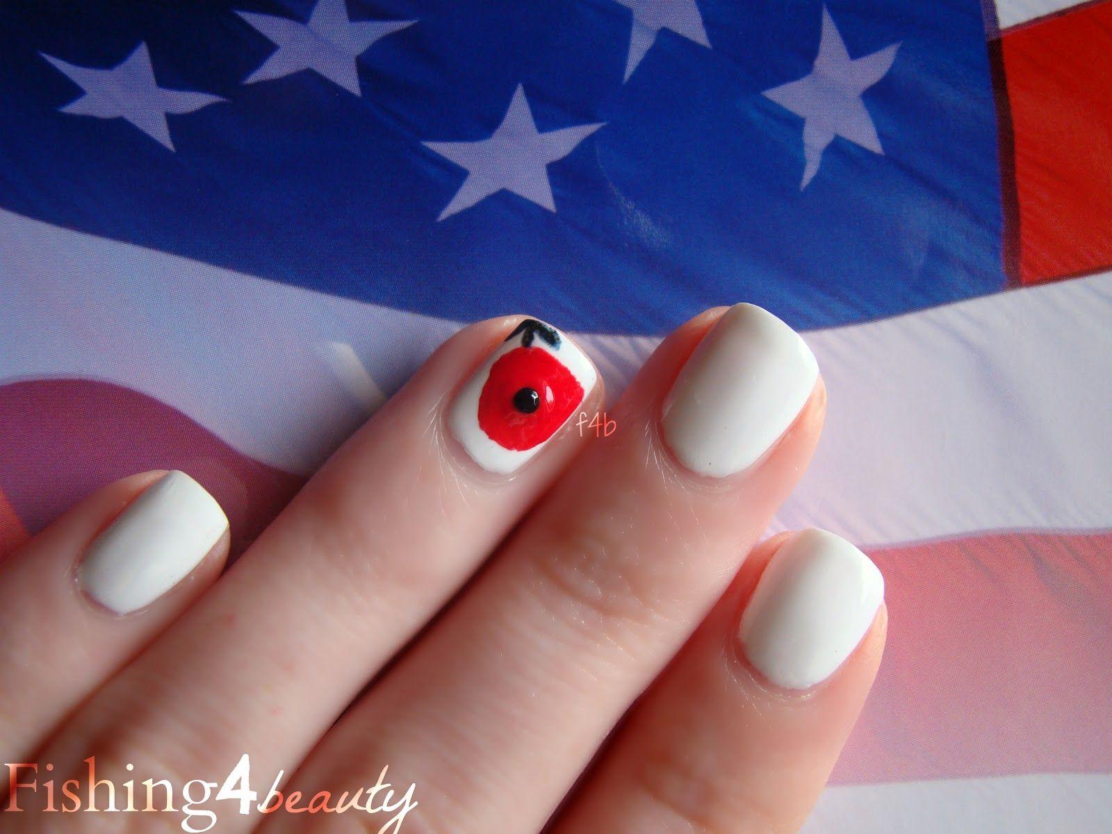 Memorial Day Manicure featuring Zoya Nail Polish in Purity, Zoya ...