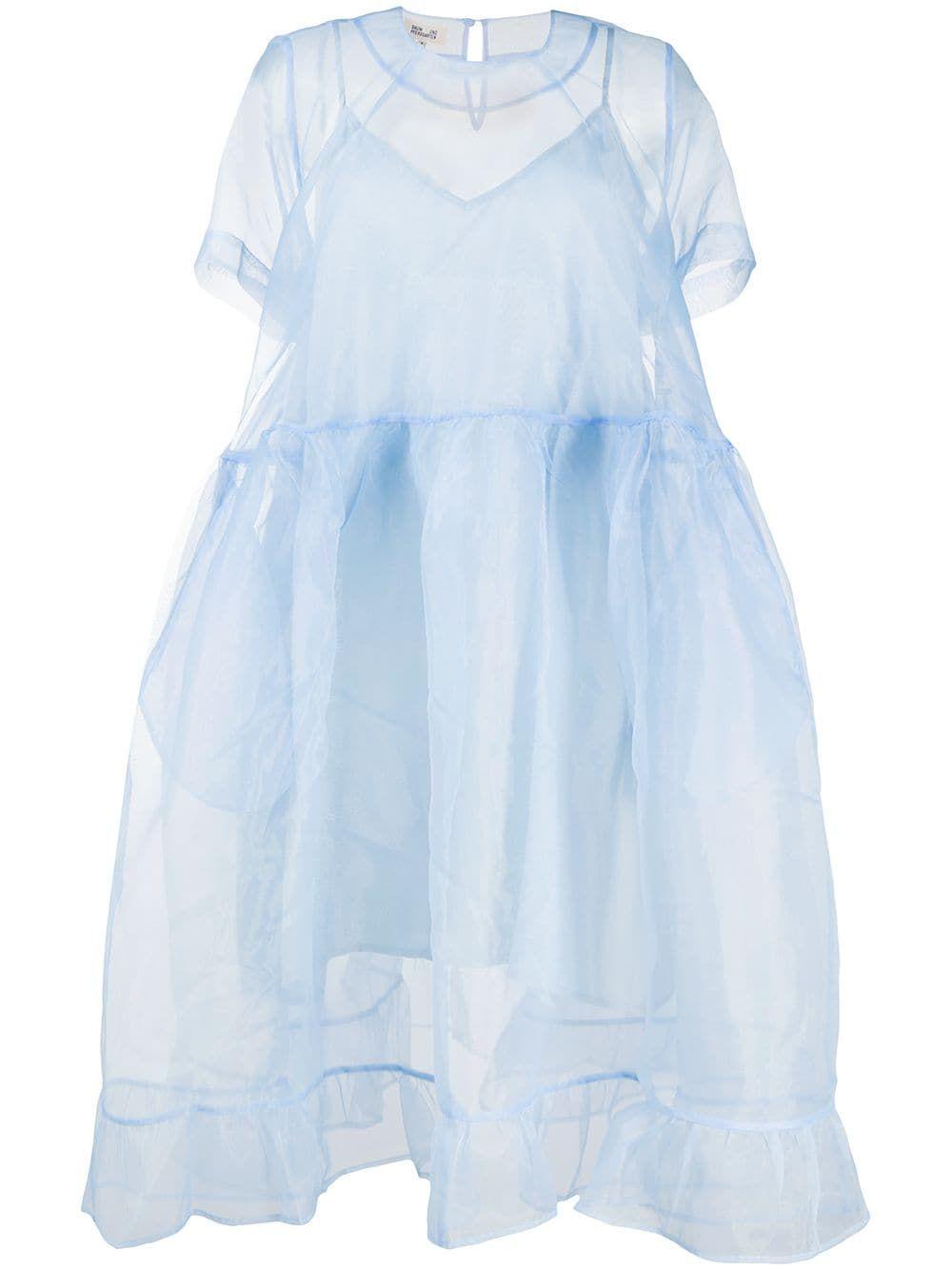 Baum Und Pferdgarten Sheer Organza Babydoll Dress Farfetch Dresses Babydoll Dress Fashion [ 1334 x 1000 Pixel ]