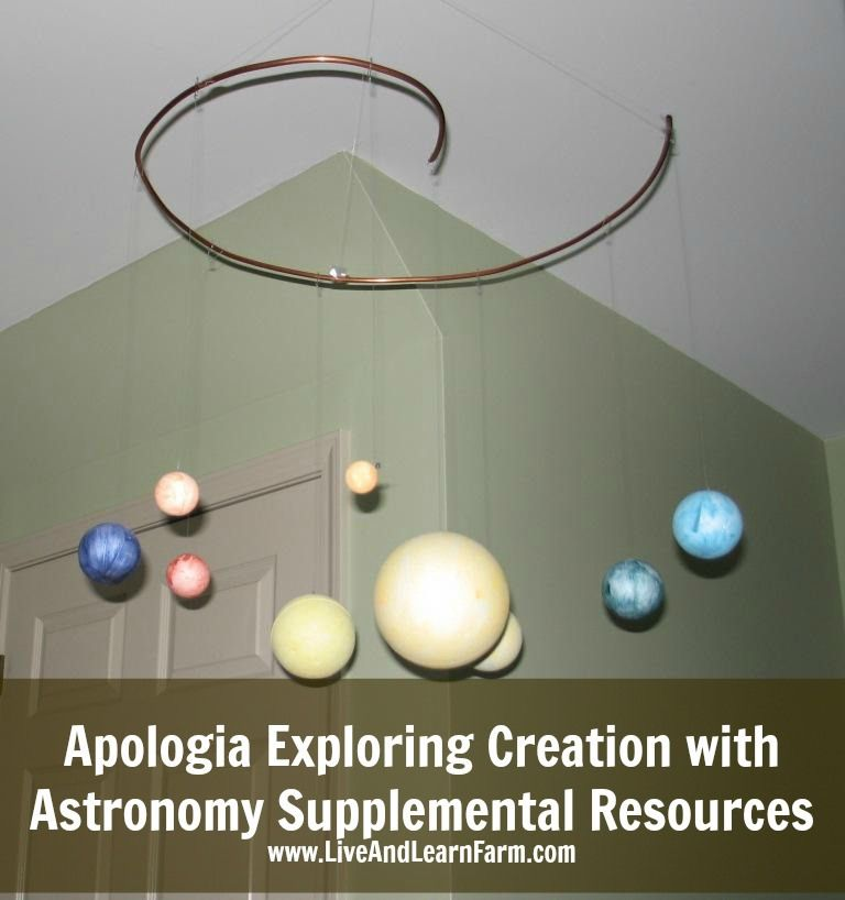 Photo of Apologia Exploring Creation with Astronomy Supplemental Materials – Live and Learn Farm