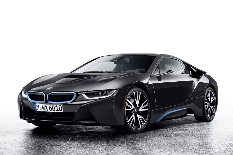 This Bmw I8 Concept Ditches Mirrors For Side View Cameras