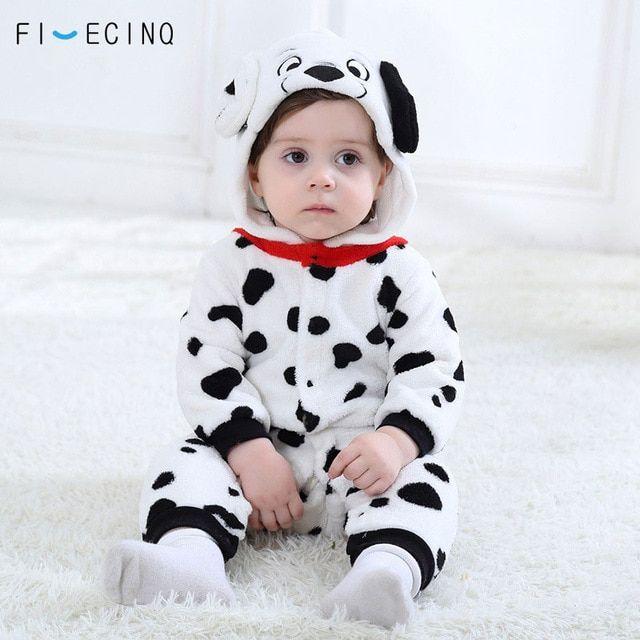 3e8ae2a66 Baby-Boys-Girls,Onesie-Dalmatians,Spotty,Dog,Cosplay,Costume ,Flannel,Warm,Black,White,Cute,Animal,Kigurumi.Brand,New,Aliexpress For  Sale S..
