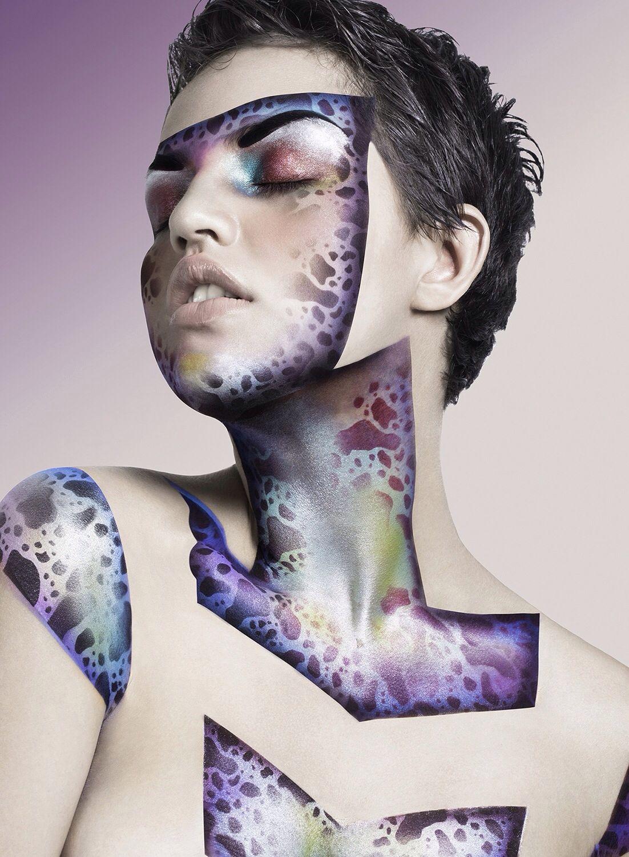 makeup by DeMaria #graftobianschool #graftobian #graftobianespaña #airbrush #makeup #mua #hdmakeup #artistic