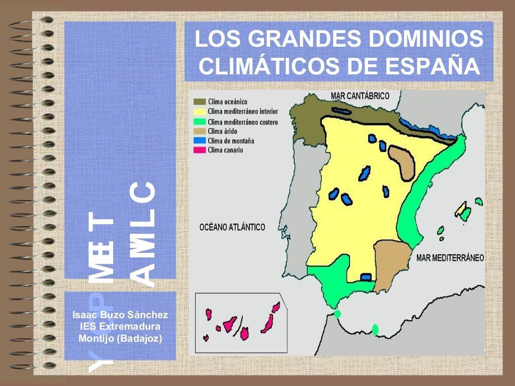 El Clima En Espana Bypu Via Slideshare