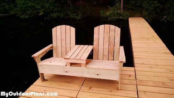 Diy Adirondack Bench With Table Adirondack Chair Wood Adirondack Chairs Adirondack Chair Plans