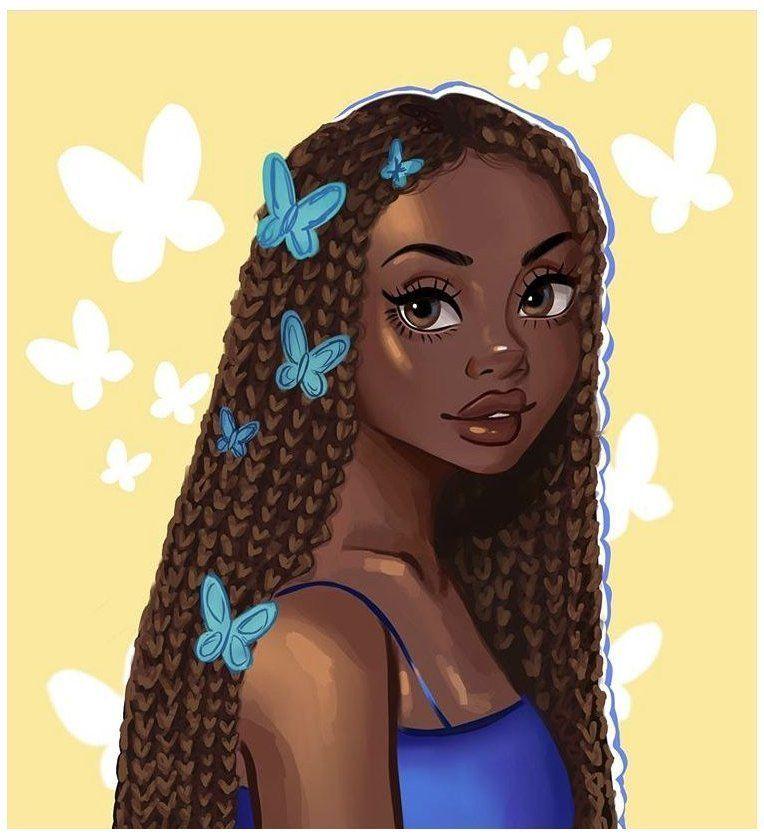 Cartoon Black Girls