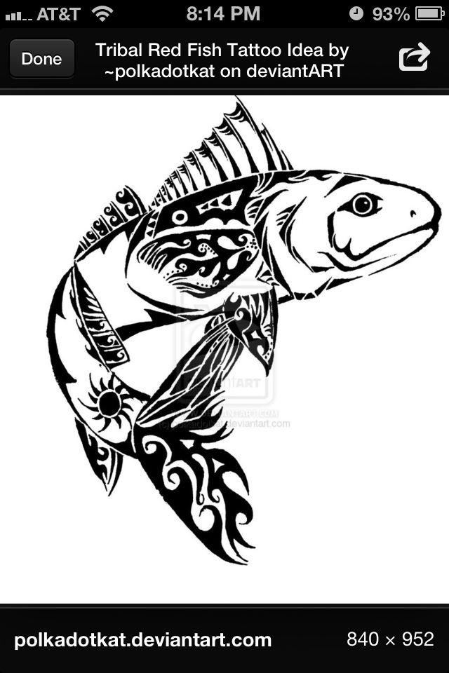Redfish Ink Ideas Pinterest Tattoo And Piercings