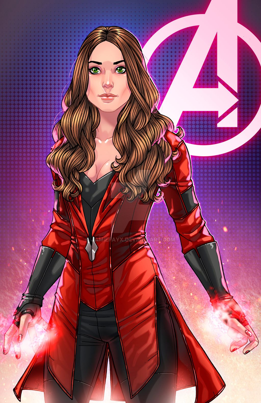 Scarlet Witch Captain America: Civil War