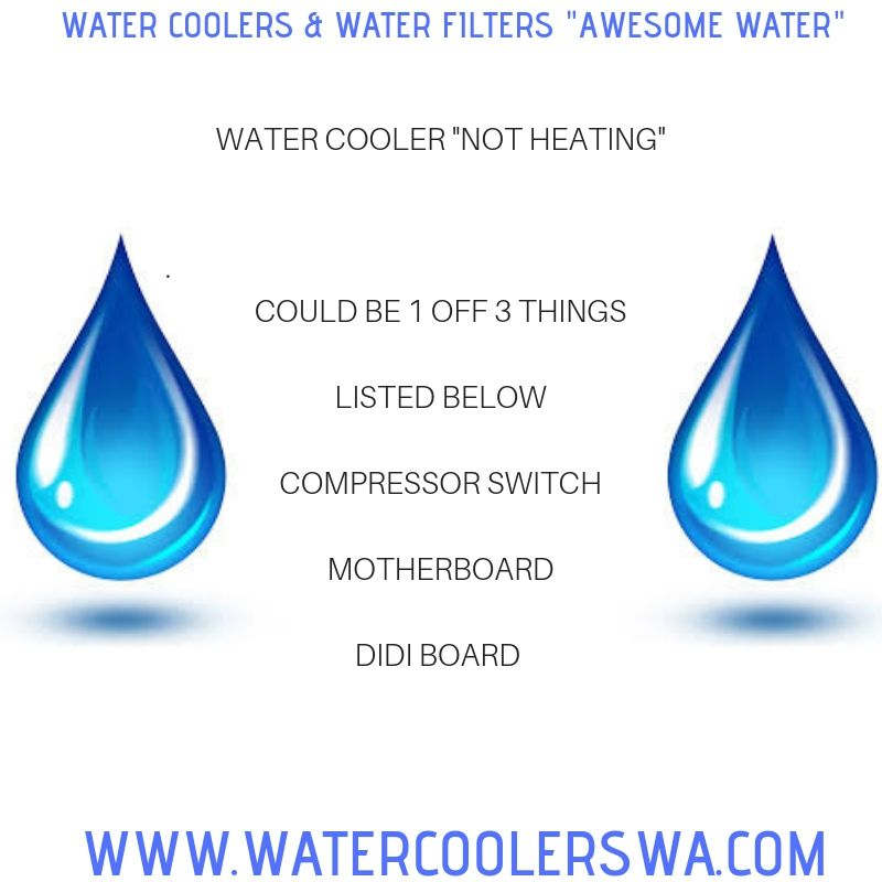 Water Cooler Not Cooling Could Be 1 Off 3 Things Listed Below