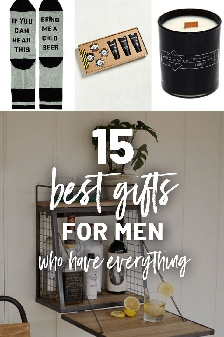 2018's Best Gifts For Men Who Have Everything And Want