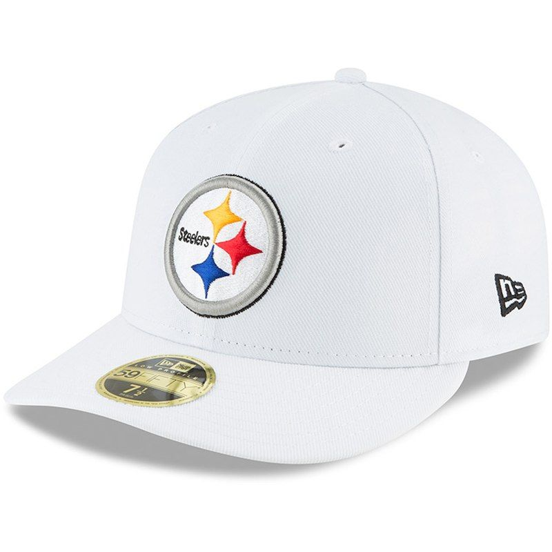 e2f199fd Pittsburgh Steelers New Era Omaha Low Profile 59FIFTY Fitted Hat ...