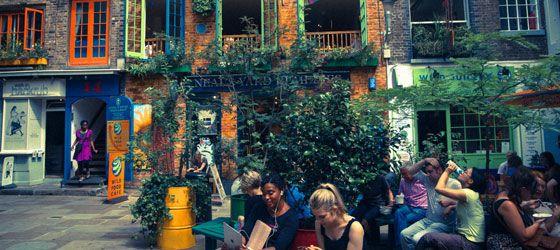 Wild food café - 1st Floor 14 Neal's Yard Covent Garden London WC2H 9DP