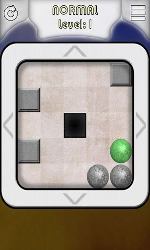 Teeter Slope puzzle is a classic brain teaser game (no arcade elements). <p>Your objective is a put all green balls to the black hole. If you put gray ball to hole you lose. Click on the border of board to tilt the board and balls are moving. Ball stop on the wall. If you want, you can use the accelerometer (tilt your phone or tablet).<p>Game features:<br>- great graphics<br>- 45 challenges<br>- 5 difficulty levels<br>- great gameplay<br>- user friendly & intuitive interface<br>- autosave…