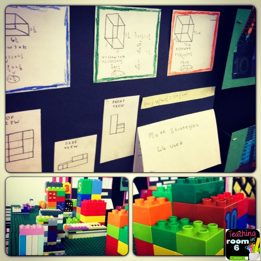 Using Legos To Find Additive Volume 5th Grade Ccss Math Standards