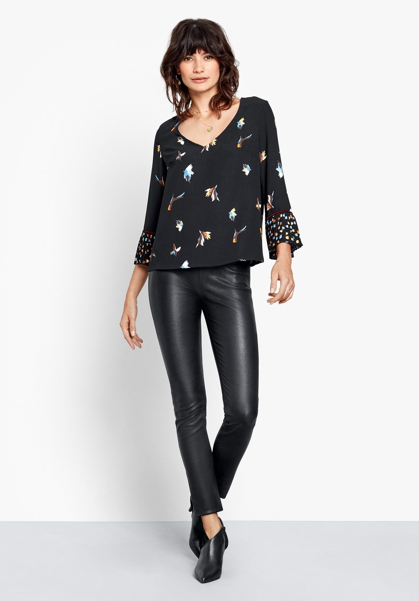 Buy Rubi Pleated Sleeve Top from Hush  With the party season upon us 173ea6445fa