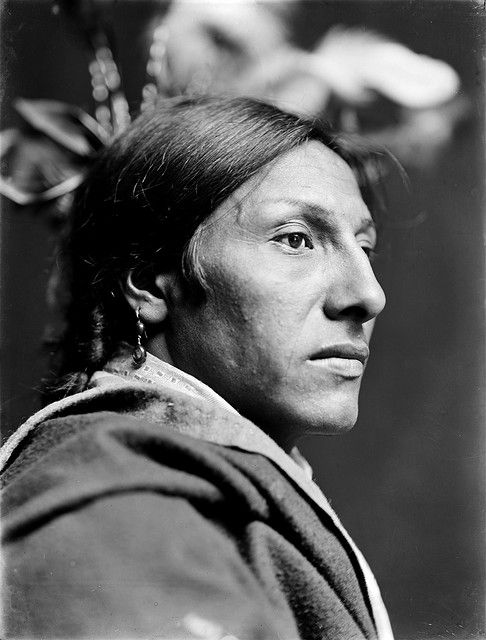 Amos Two Bulls, Dakota Sioux, by Gertrude Käsebier, ca. 1900