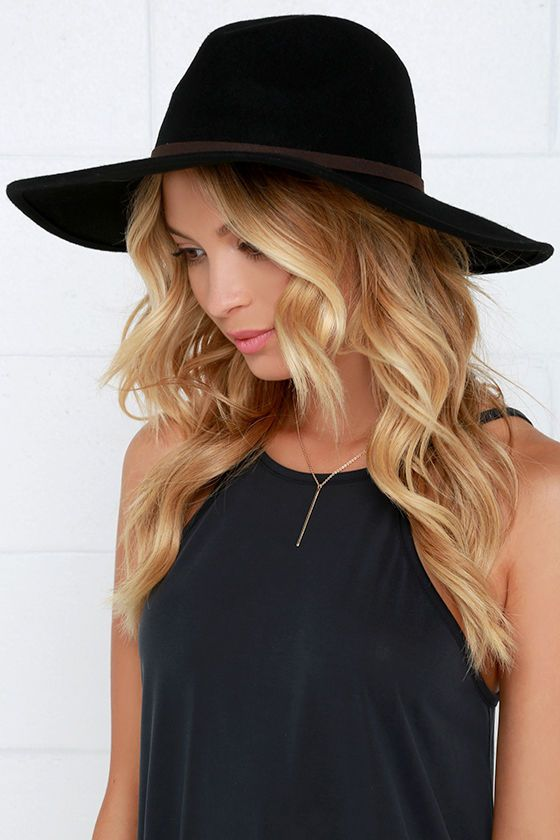 a3a2f9dcb5cb8 Billabong Moon Gaze Black Fedora Hat at Lulus.com!