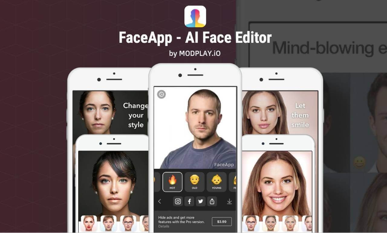 FaceApp PRO (With images) Change hair color, Perfect