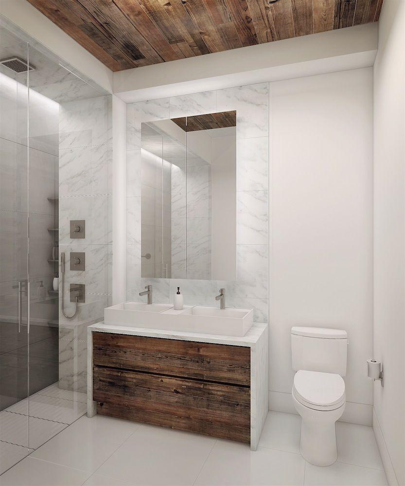 wood plank kitchen backsplash - Google Search | Bathroom Sink ...