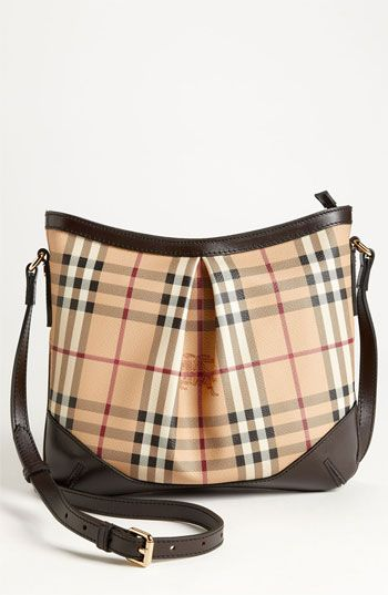 32e66f331cd6 Burberry  Haymarket Check  Crossbody Bag
