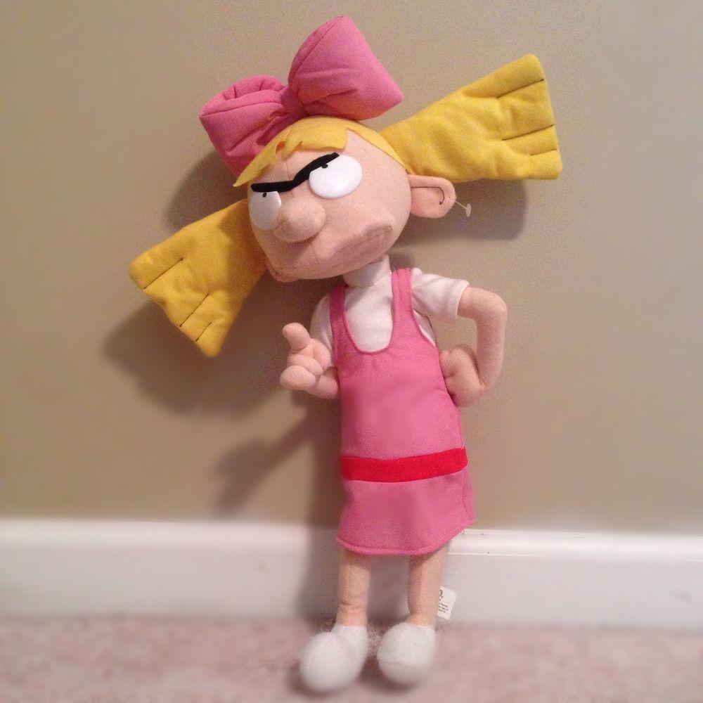 hey arnold gerald plush soft doll nanco large huge toy nickelodeon