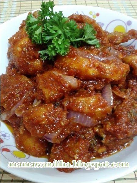 Dari Dapur Madihaa Ayam Masak Merah Tomato