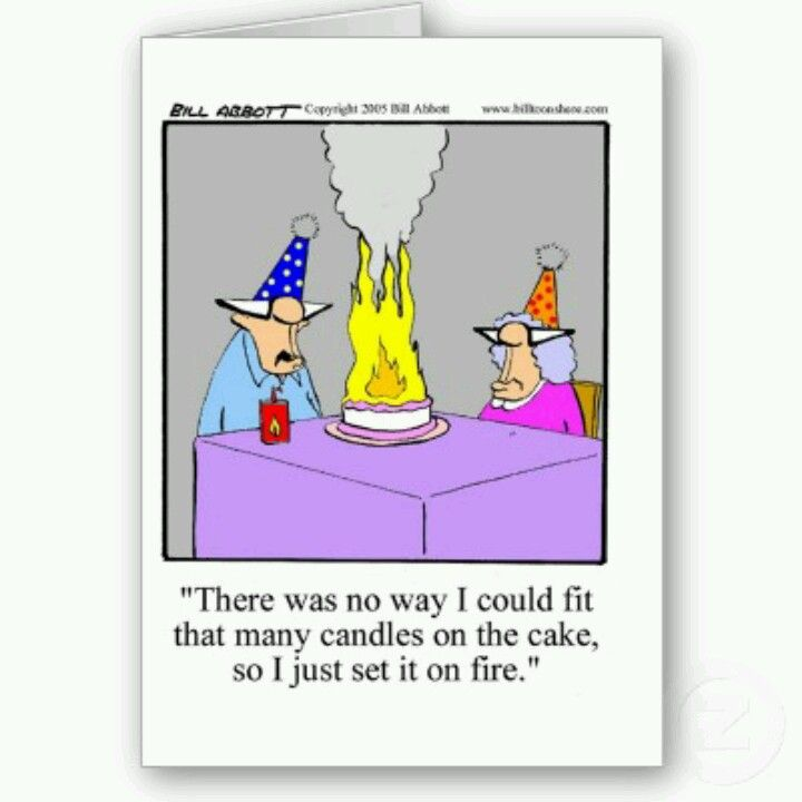 Image result for old peoples happy birthday cartoon