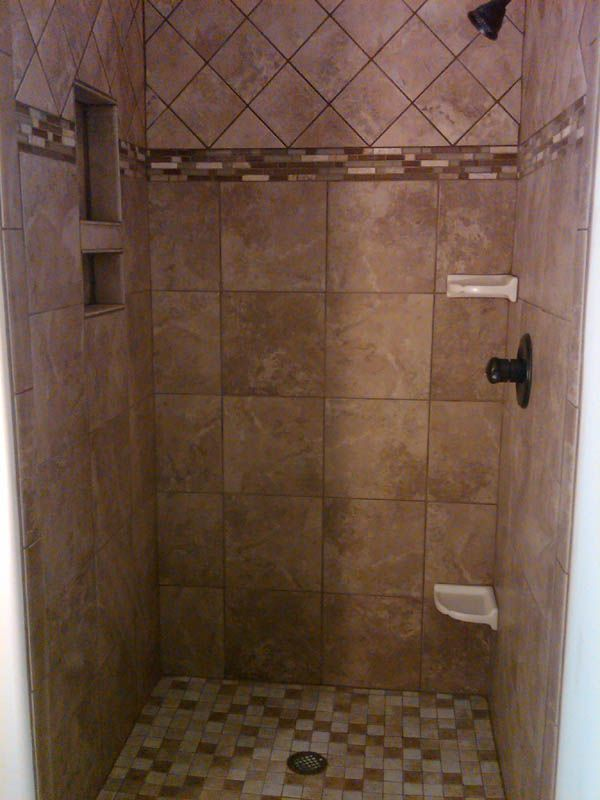 Tiled Shower Stalls Bathroom Shower Tile Body Jets