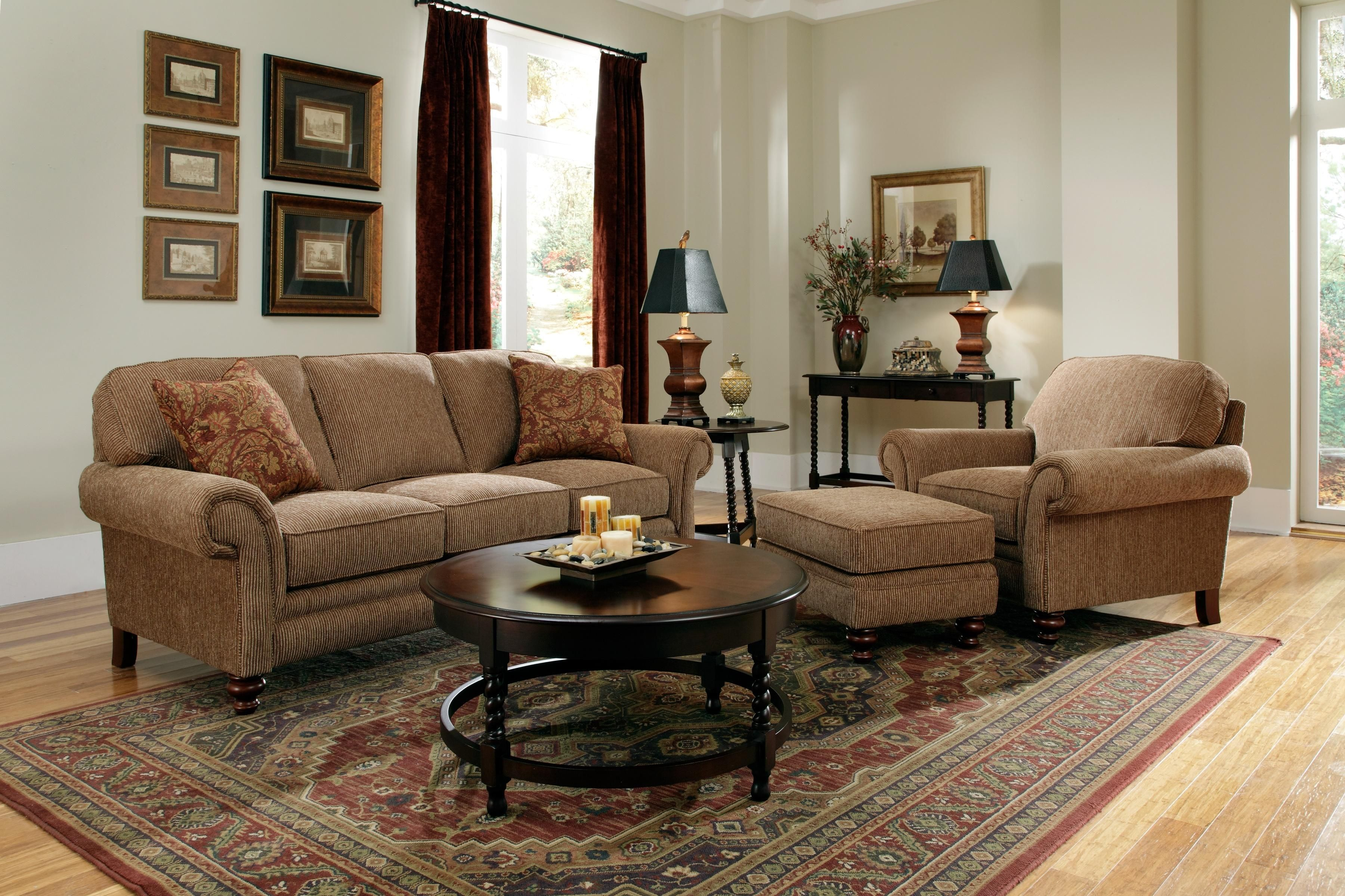 broyhill leather sofa sets with storage underneath ikea furniture larissa collection featuring
