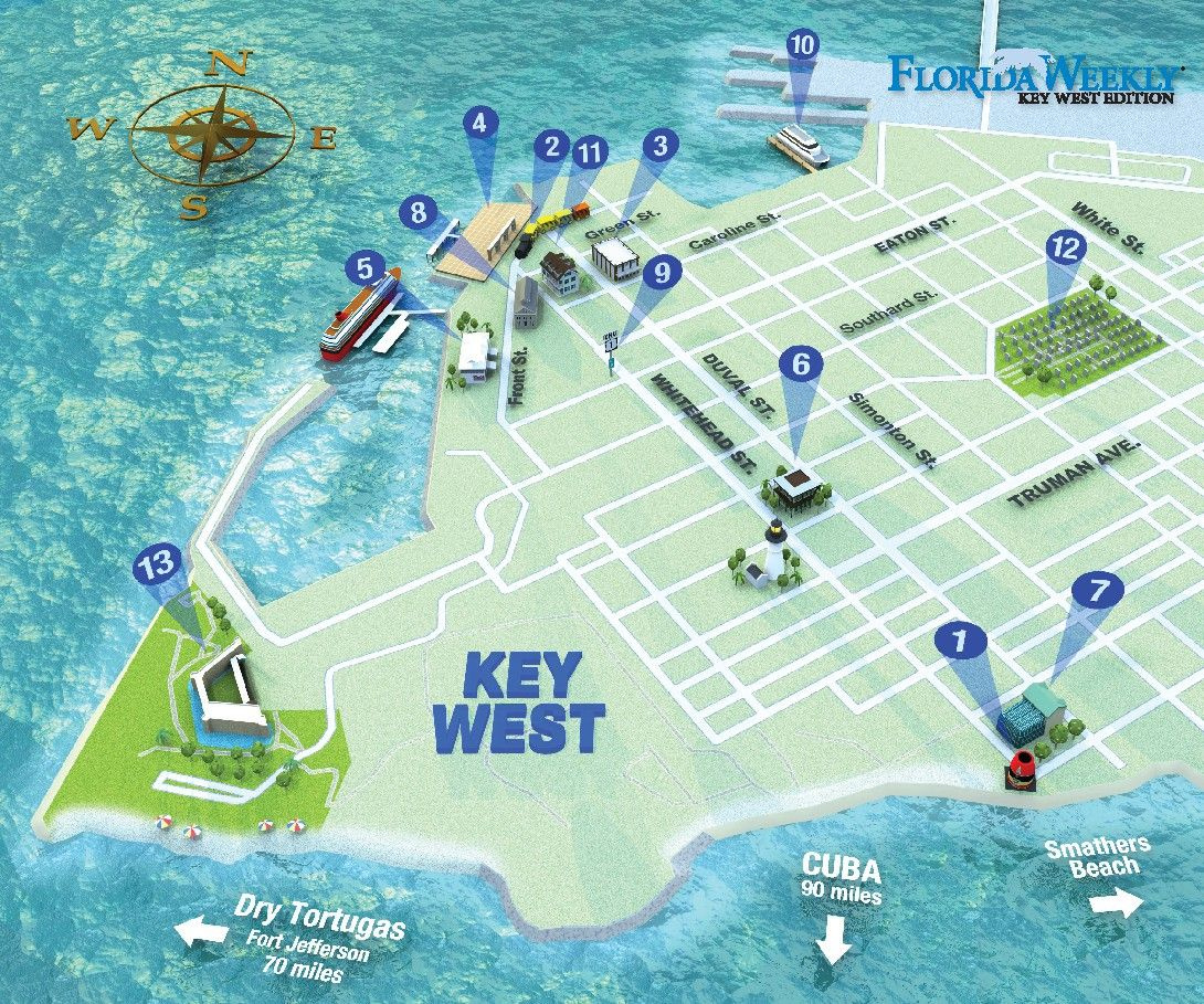 MAP IT OUT | Key West Florida Weekly | Key West News in 2020