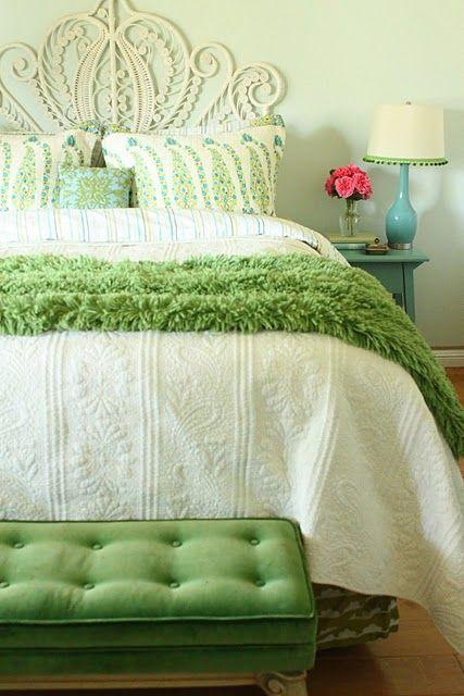 Décoration intérieure / Chambre bedroom / Couleur coloré ...